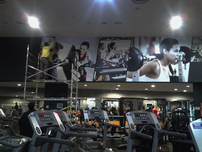 Health city kromatek soluciones gr ficaskromatek - Decoracion de gimnasios ...